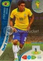 2014 Adrenalyn World Cup Paulinho