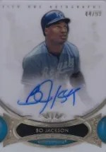 2014 Topps Tier One Bo Jackson Autograph