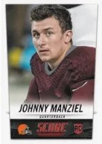 2014 Score Johnny Manziel RC
