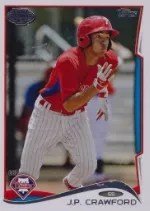 2014 Topps Pro Debut J.P. Crawford Sp Variation