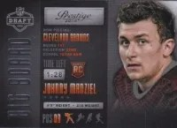 2014 Panini Johnny Manziel Big Board