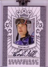Bode Miller Sportkings Autograph Card