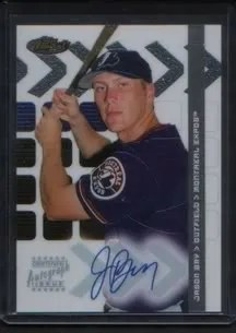 Jason Bay 2002 Topps Finest Autograph AUTO Rookie RC