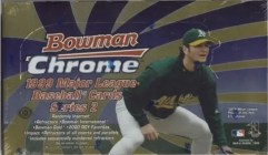 1999 Bowman Chrome Baseball Box Series 2