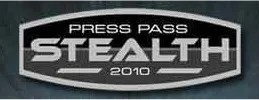 2010 Press Pass Stealth NASCAR Racing
