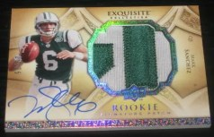 2009 UD Exquisite Mark Sanchez Patch RC