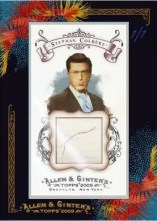 Stephan Colbert Allen & Ginter DNA Hair Card