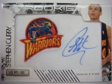 2009/10 Stephen Curry Patch Autograph RC