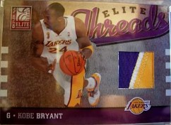 2009/10 Donruss Threads Kobe Bryant Patch