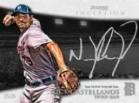 2013 Bowman Inception Nick Castellanos Auto