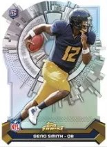 2013 Topps Finest Geno Smith Atomic