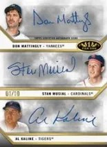 2013 Topps Tier One Triple Autograph