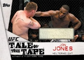 2010 Topps UFC Tale of the Tape Relic Cards