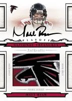 Matt Ryan Playoff National Treasures Jersey Auto
