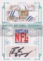 NFL Patch Logo Jersey Auto Cards