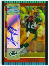 2005 Bowman Chrome Aaron Rodgers Auto RC