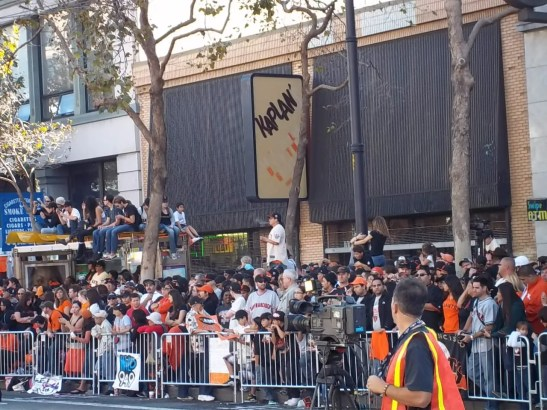 San Francisco Giants WS Parade Pictures