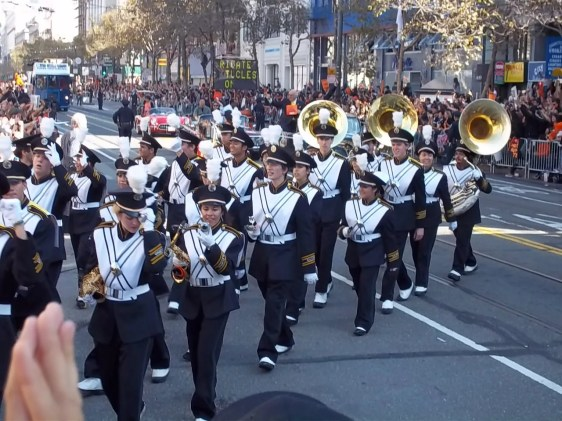 2010 San Francisco Giants Parade Band Photo