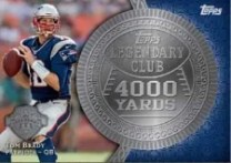 2013 Topps Tom Brady Legendary Club