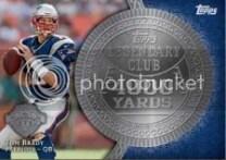 2013 Topps Tom Brady Legendary Club