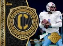 2013 Topps Warren Moon Captains Patch