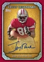 2013 Topps Jerry Rice Autograph