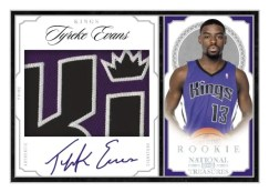 2009/10 National Treasures Tyreke Evans Patch Auto RC