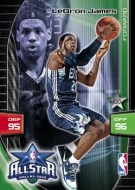 2009/10 Panini Adrenalyn LeBron James All Star