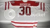2010 Martin Brodeur Canada Hockey Jersey