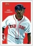 2010 Topps Chicle Baseball Mike Cameron Base Card
