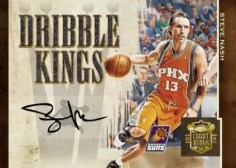09/10 Panini Court Dribble Kings Steve Nash Auto