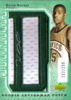2007/09 Kevin Durant Rookie Patch Auto