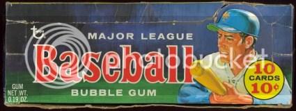 1970 Topps Baseball Box