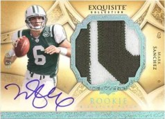 2009 UD Exquisite Mark Sanchez Rookie