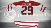 MA Fleury 2010 Canada Olympics Jersey