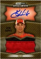 2010 Press Pass Showcase Kevin Harvick Autograph
