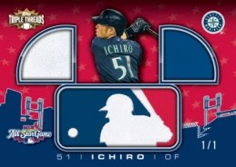 2010 Triple Threads Ichiro MLB All Star Logoman