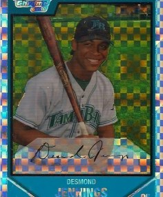 2007 Bowman Chrome Desmond Jennings RC