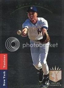 Derek Jeter 1993 Upper Deck SP Rookie Card