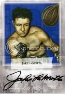 2010 Ringside Boxing Round 1 Jake LaMotta Auto