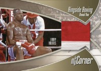 2010 Creative Cardboard Concepts Larry Holmes Ringside Boxing