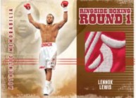 2010 Ringside Boxing Lennox Lewis Patch