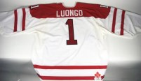 Roberto Luongo 2010 Olympic Canada Game Worn Jersey