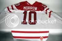 Brenden Morrow 2010 Canada Jersey