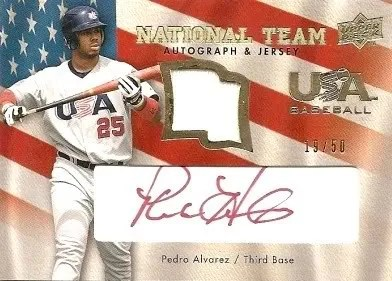 Pedro Alvarez Jersey Card