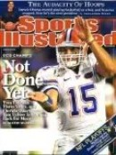 Tim Tebow SI Sports Illustrated Cover 1/21/2009