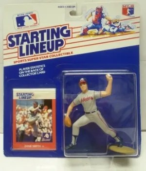 1988 Kenner Zane Smith Starting Lineup