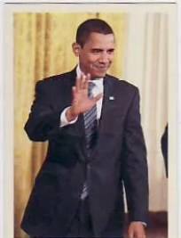 2009 UD Philadelphia Barack Obama #318