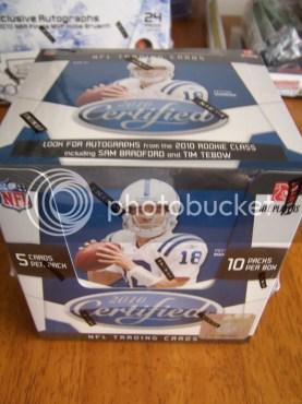 2010 Panini Certified Football Hobby Box
