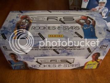 2010/11 Panini Rookies and Stars Hobby Box